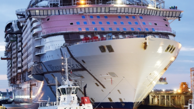 Photo of GALLERY: Chantiers de l'Atlantique floats out world's largest cruise ship