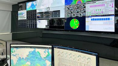 Photo of HMM shows off its new fleet control centre