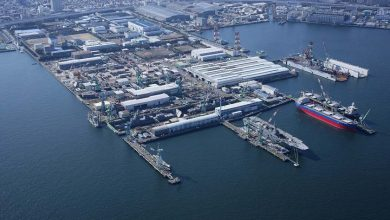 Photo of Japan's great shipbuilding joint venture put on hold