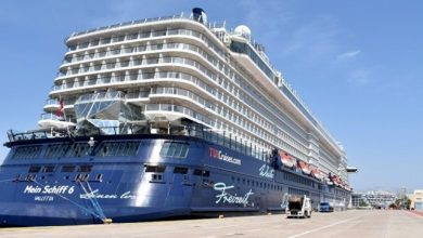 Photo of First Large Cruise Ship Resumes Service in Greece