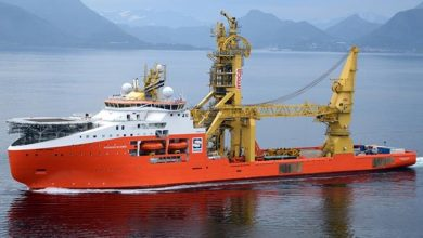Photo of Solstad CSV given early termination by Saipem