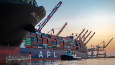 Photo of Port of Los Angeles Posts its Best Month Ever for Container Volumes