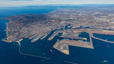 Photo of Boatloads of Cargo Off Los Angeles Grind Gears of World Economy