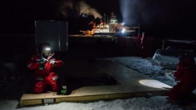 Photo of Icebreaker Polarstern Returns After Yearlong Polar Expedition