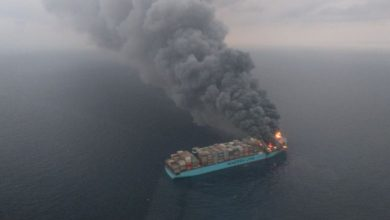 Photo of Report: Dangerous Chemical May Have Caused Maersk Honam Fire