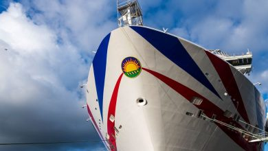 Photo of P&O Cruises takes delivery of its new LNG-powered flagship