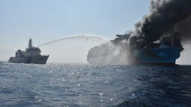 Photo of Report: Likely cause of Maersk Honam fire decomposition of dangerous cargo