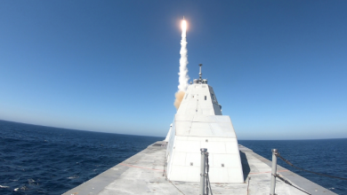 Photo of Four Years After Delivery, USS Zumwalt Fires First Missile