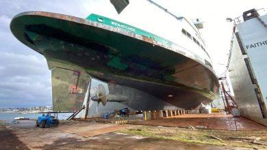 Photo of Washington State Ferries' Largest Vessel Enters Drydock