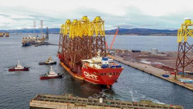 Photo of Moray East Offshore Wind Farm Jacket Transport Completed