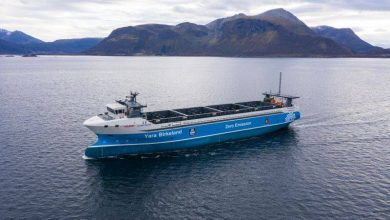 Photo of Vard Delivers World's First Electric & Autonomous Container Ship to Yara