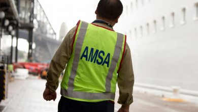 Photo of AMSA: Serving on ships beyond 11 months won't be permitted from February 2021