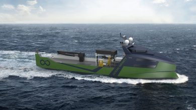 Photo of Ocean Infinity orders eight marine robotic vessels at Vard