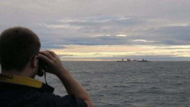 Photo of Royal Navy Monitors Russian Warships Off Scotland