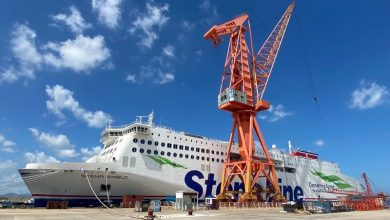 Photo of Stena Line takes delivery of newest E-Flexer in China