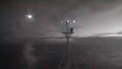 Photo of Video: Australian Research Vessel Captures Footage of Giant Meteor
