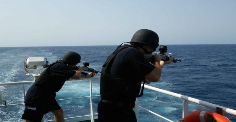 Security Escort services (For transiting safe from Gulf of Aden)
