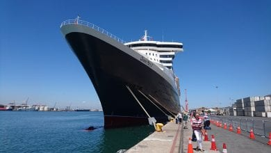 Cruise Liner On Her First and Last Call to PE