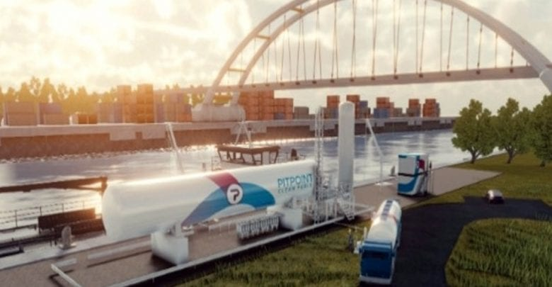 First LNG bunker station to open for inland waterway vessels on Rhine