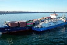 Kairos Supplies LNG in 1st STS Bunkering Op for Wes Amelie