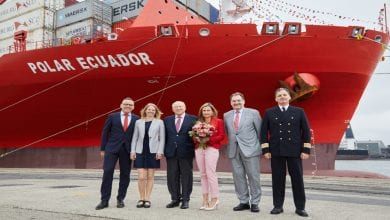 Hamburg Süd Christens Another Polar Class Vessel