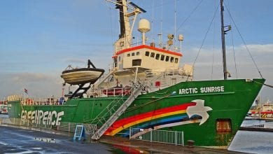 Russia to Pay USD 3 Mn to Greenpeace for Illegal Ship Detention